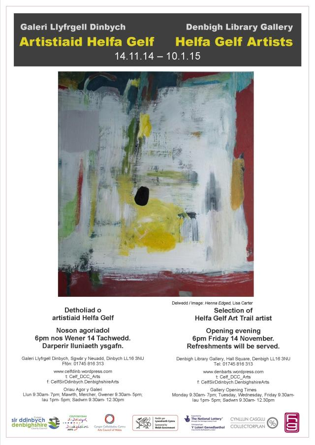 Denbigh Library Gallery 14/11/14 - 10/1/15